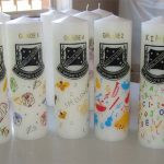 Customised School Candles